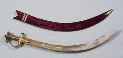 tipu sultan sword