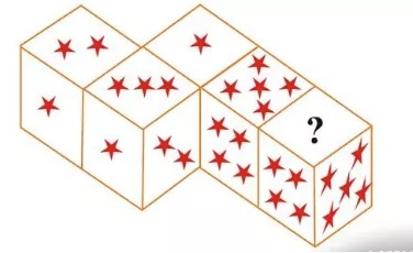guess the number of stars on dice