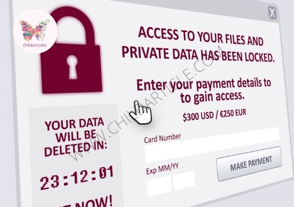How To Protect Your Computer Against Ransomware Attacks | ChildArticle