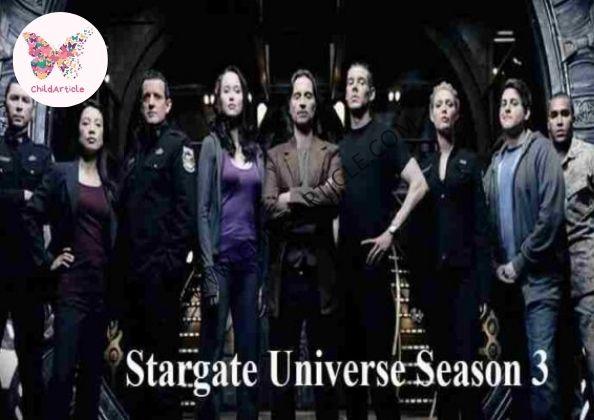 Stargate Universe Season 3 | ChildArticle