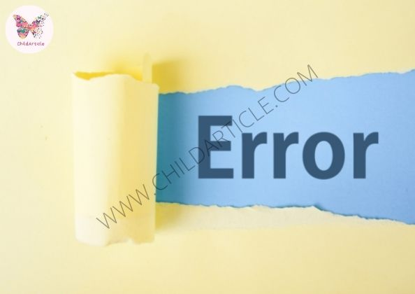 [PII_EMAIL_3A19AC5CC937023E1594] Solve Error Message | ChildArticle