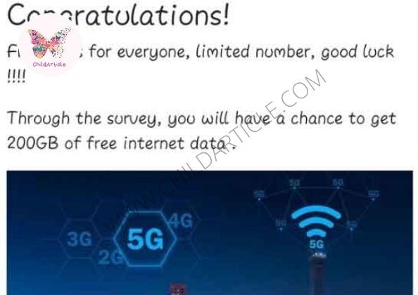 200 GB Free Internet Data Review, Real Or Fake | ChildArticle