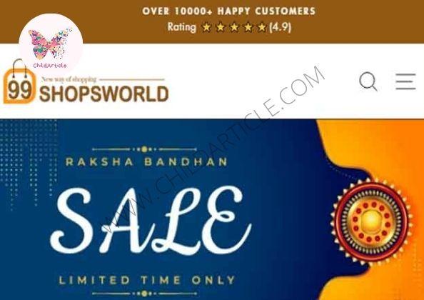 99 Shops world (99shopsworld.life) Site Real or Fake   ChildArticle