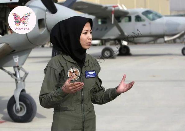 Afgan Pilot Safiya Firoze Dead or Alive, Wiki | ChildArticle