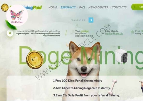 Dogeminingpaid.com Review, Real Or Fake, Wiki, Contact Number | ChildArticle