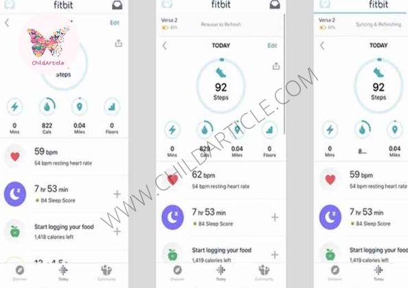 Fitbit App Not Working | ChildArticle