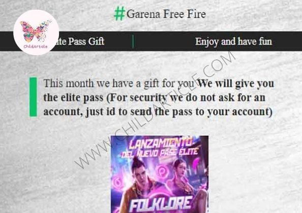 Free FreeFire Diamonds Link Review, Real or Fake, Wiki | ChildArticle