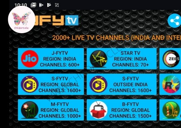 HYFYTV Not Working | ChildArticle