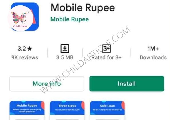 Mobile Rupee Loan App Real or Fake, Review, Wiki | ChildArticle