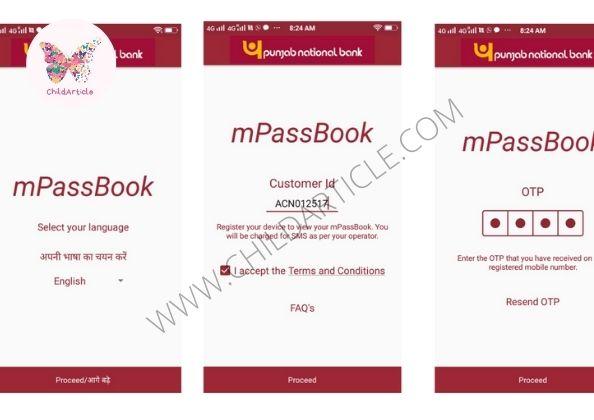 PNB mPassbook Not Working | ChildArticle