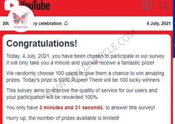 YouTube 20th Anniversary Gift Link Real or Fake   ChildArticle