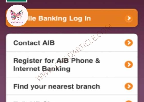 AIB Mobile App Not Working | ChildArticle