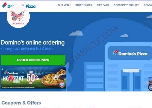 Domino's Website Not Working | ChildArticle