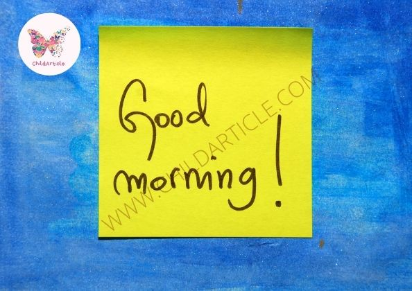 Good Morning Messages 2021   ChildArticle
