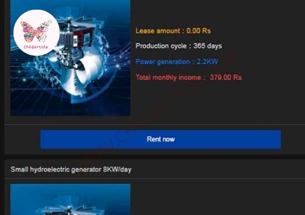 New Hydropower Earning App Latest News | ChildArticle
