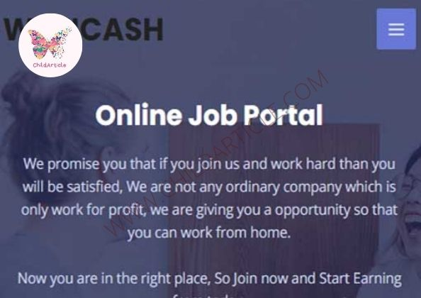Wekicash.com Review, Real Or Fake, Wiki, Contact Number   ChildArticle